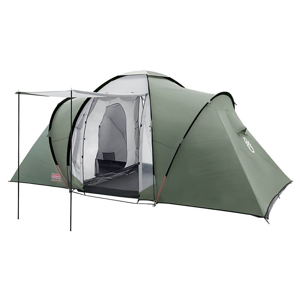 Coleman chêne canyon Famille 4 Tente tunnel-Vert//Gris